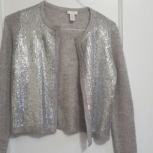 Chico's party wear sweater/ light outer wear